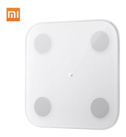 Xiaomi Mi Scale 2 Bascula Inteligente Ultra Delgada Bt 5.0