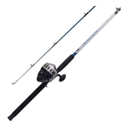 Imagen 1 de 5 de Pesca Combo Reel Zebco 808 Y Caña Boss Hawg Con Linea 20 Lb