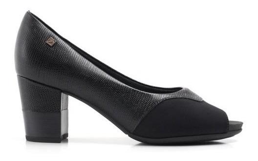 Sapato Feminino Peep Toe Piccadilly 364007