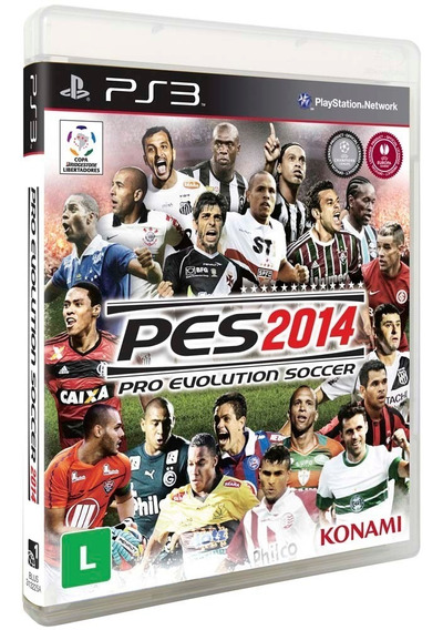 Game Ps3 Pes 2014 - Original - Novo - Lacrado