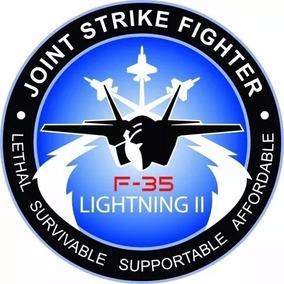Adesivo F-35 Esquadrilha / Aviação