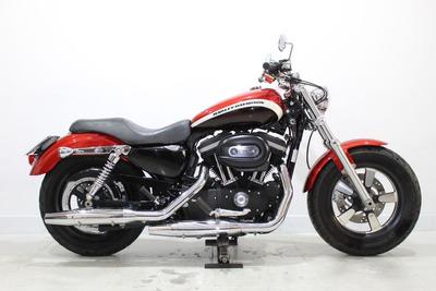 Harley Davidson Xl 1200 Ca 2013 Vermelha