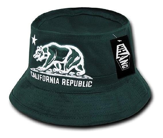 Sombrero De Cubeta/bucket Whang Verde S/m