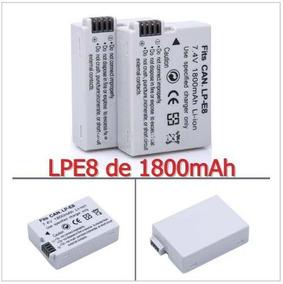 Bateria Canon Lpe8 Lp E8 1800mah T2i T3i T4i T5i X4 X5 700d