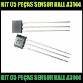 05 Peças Sensor De Efeito Hall Arduino Pic A3144