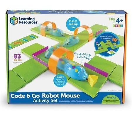 Learning Resources Code & Go Set De Raton Robot
