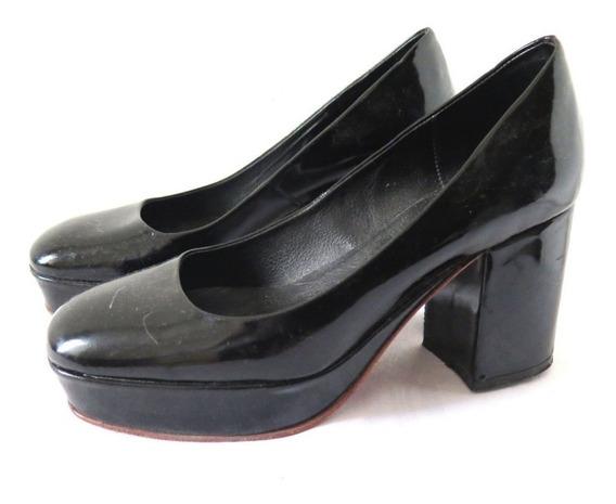 Zapatos Negros Charol Sibyl Vane 38