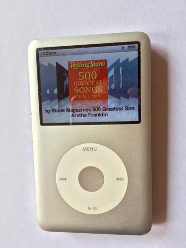 Imagen 1 de 6 de iPod Classic 120gb En Buen Estado