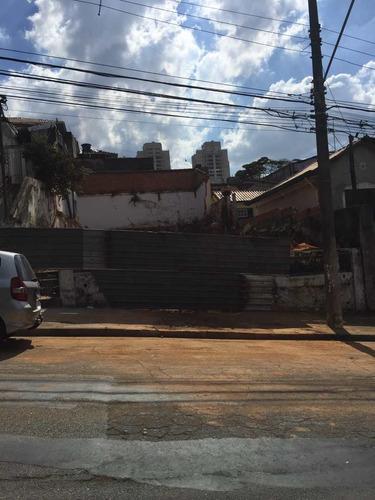 Terreno, Jardim Monte Kemel, São Paulo - R$ 480 Mil, Cod: 3018 - V3018