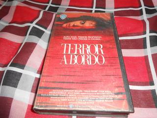 Filme Vhs Terror A Bordo.