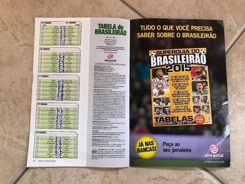 Revista Tabela Do Brasileirao 2015 Serie A E Serie B M254 Mercado Livre