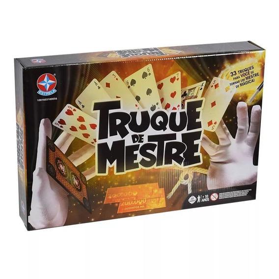 Jogo De Mágica 33 Truques De Mestre Completo Estrela
