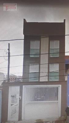 Cobertura Com 2 Dormitórios À Venda, 38 M² Por R$ 250.000 - Vila Vitória - Santo André/sp - Co0564