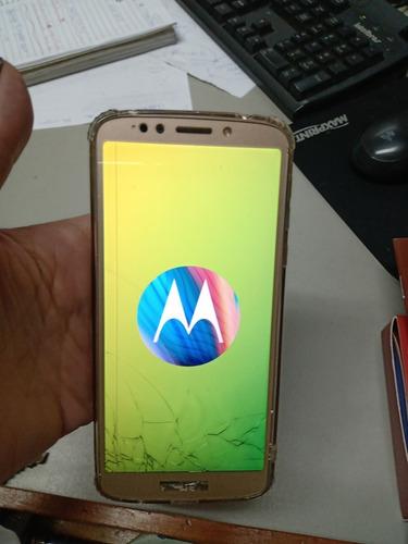 Moto G6 Play - Pequeno Trinco Na Tela