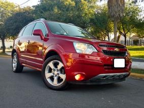 Chevrolet Captiva 2013 Version De Lujo Piel Y Quemacocos