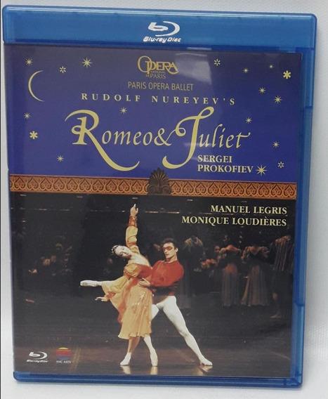 Blu-ray Romeo & Juliet - Paris Opera Ballet R.nureyev S