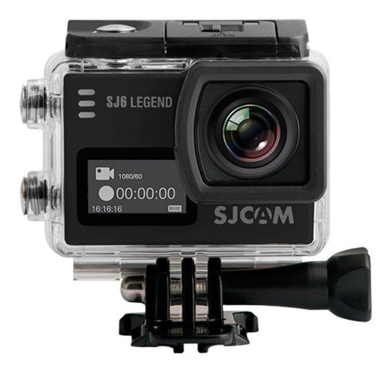 Sjcam Sj6 Legend Original 4k Camera Filmadora 2 Telas Wifi 16mp 166º Original Prova D