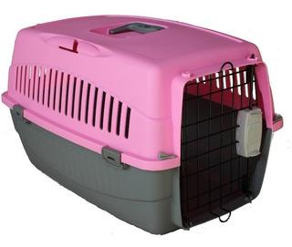Jaula De Transporte Para Perros Y Gatos Alto 34 Cm + Regalo