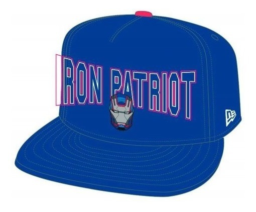 Gorra Azul Iron Patriot Iron Man 3 Tony Stark Avengers Hulk