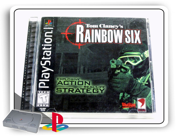 Tom Clancys Rainbow Six Original Playstation 1 Ps1