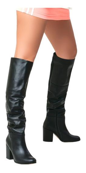 Botas De Mujer De Cuero Caña Alta Sandy