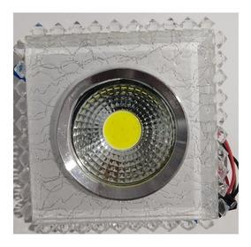 Iluminação De Led Cob Luxo Espelhado Cristal 6w Kit 9 Pçs