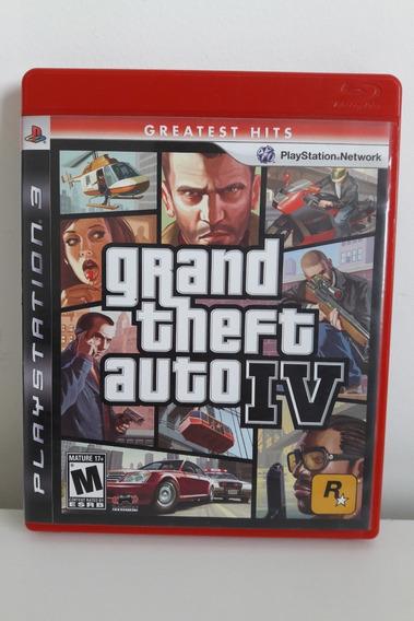Grand Theft Auto Iv (mapa + Encarte)