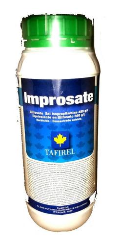Imagen 1 de 3 de Herbicida Improsate 1lt  Glifosato 360 G/l