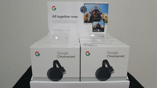 Google Chromecast 3 Sellado Hdmi Smart Tv Android Ios