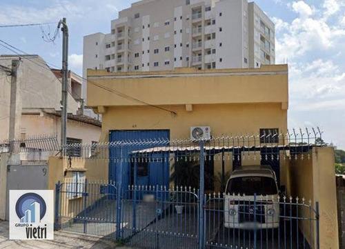 Galpão Para Alugar, 400 M² Por R$ 7.000/mês - Vila Pereira Barreto - São Paulo/sp - Ga0307