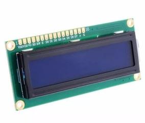 Display Lcd 16x2 1602 Back Azul Pic Atmel Arduino