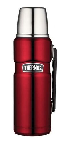 Termo Thermos King Acero Inoxidable 1.2 Lts Rojo