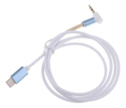 Imagen 1 de 2 de 1 Pieza De 3,5 Mm Macho A Cable Usb Tipo C Accesorios Para