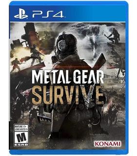 Metal Gear Survive Ps4 Nuevo Disponible