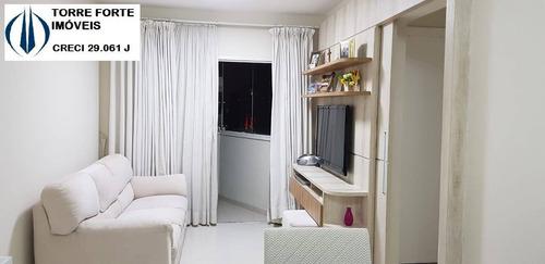 Imagem 1 de 13 de Lindo Apartamento Com 2 Dormitórios E 1 Vaga No Campo Belo - 2663