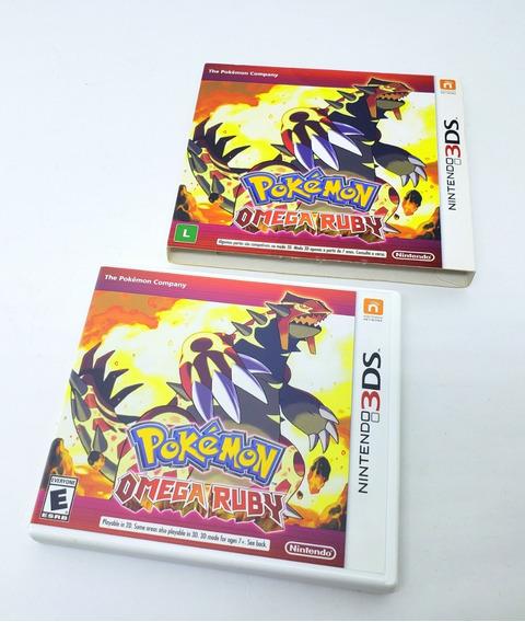 Jogo Nintendo Pokémon Omega Ruby- 3ds (semi-novo)
