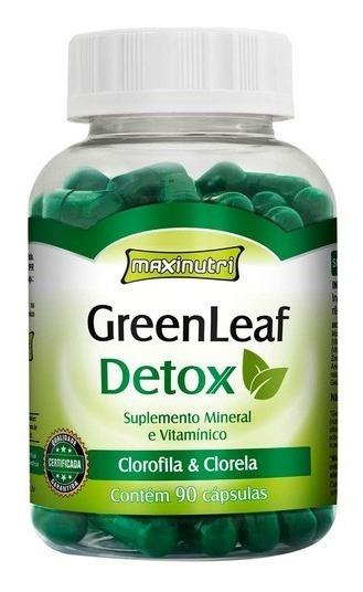 Greenleaf Detox - 90 Cápsulas - Maxinutri