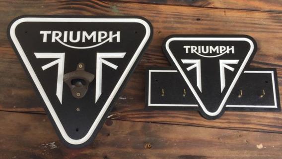 Abridor De Cerveja E Porta Chaves - Triumph Frete Grátis