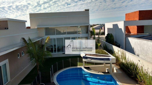 Casa Com 3 Dormitórios À Venda, 500 M² Por R$ 2.900.000 - Condomínio Fazenda Imperial - Sorocaba/sp - Ca2085