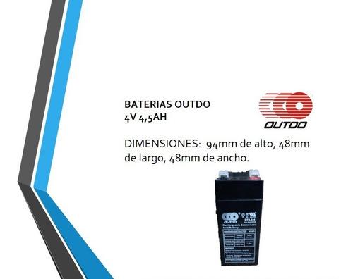 Baterias 4v 4.5ah