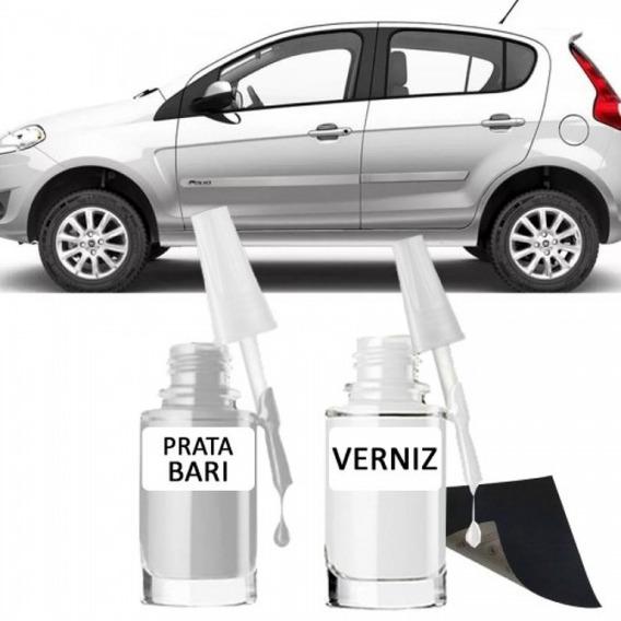 Tinta Tira Risco Automotiva Fiat Prata Bari