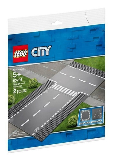 Lego 60236 Rectas E Interseccion En T