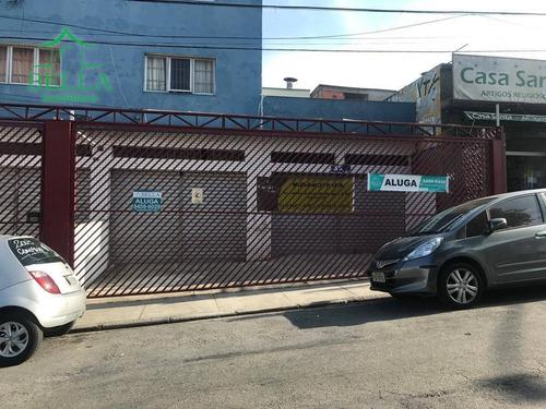 Salão Comercial Para Locação, Vila Guedes, São Paulo. - Sl0160