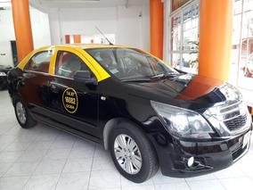 Taxi Chevrolet Cobalt 2014 Anticipo Y Cuotas Dni