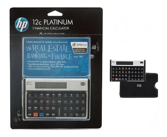 Calculadora Hp 12c Platinum Financeira Nova Lacrada Original