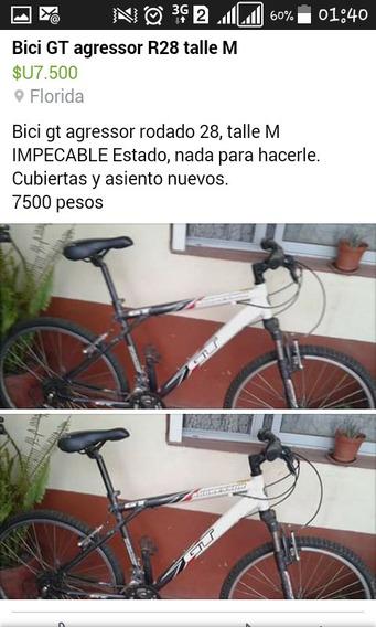 Gt Bicicleta Gt