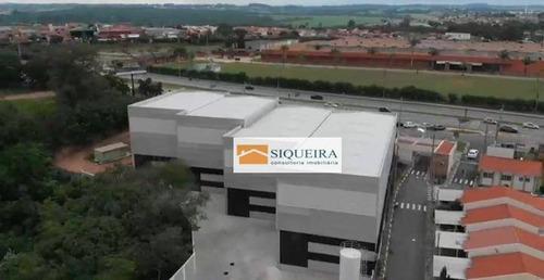 Barracão Para Alugar, 600 M² Por R$ 12.900,00/mês - Além Linha - Sorocaba/sp - Ba0114