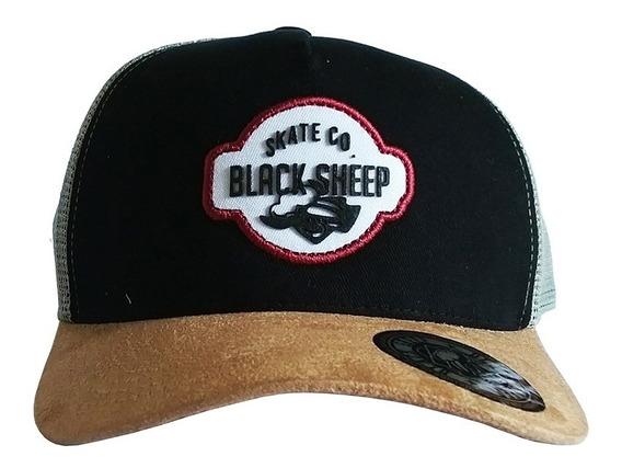 Boné Snapback Black Sheep