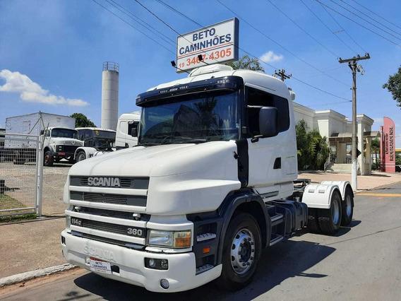 Scania 360 6x2 Motor Novo