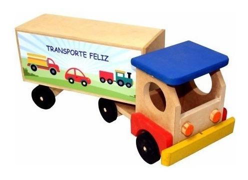 Caminhão Baú De Madeira Maninho 209.6